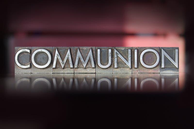 Kommunions-Briefbeschwerer lizenzfreie stockfotos
