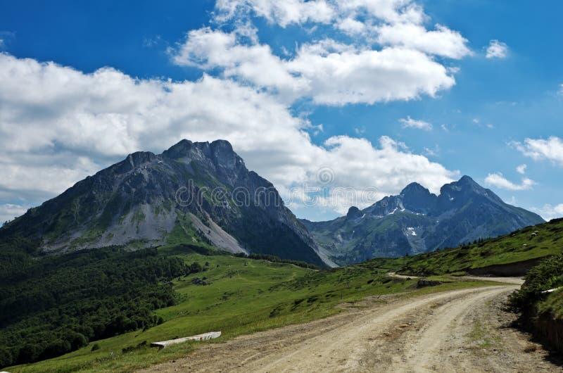 Komovi Mountains royalty free stock images