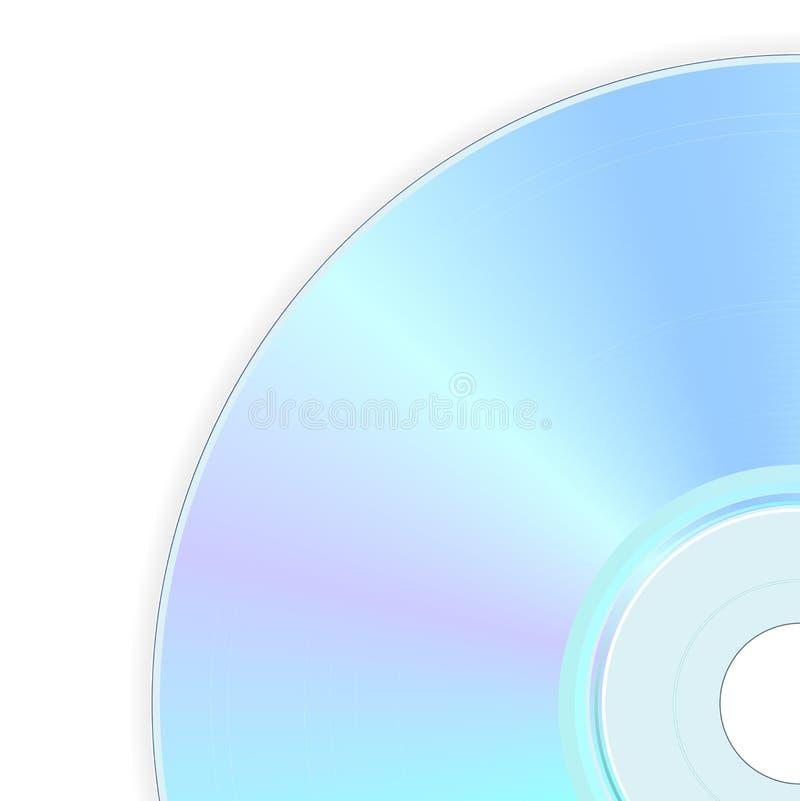 kompakt disk stock illustrationer