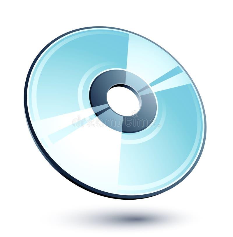 kompakt disk vektor illustrationer