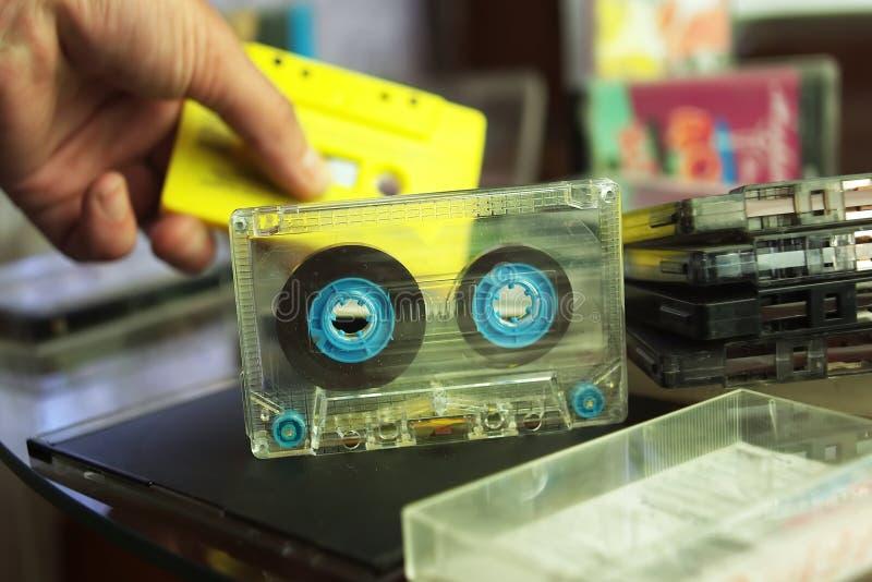 Kompakte Audiokassetten lizenzfreie stockfotografie