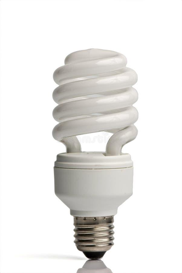 Kompakte Leuchtstofflampe stockfotos