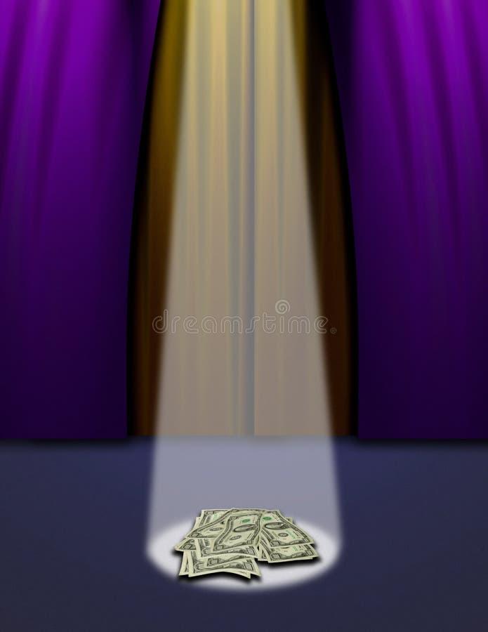kompania, scena główna royalty ilustracja