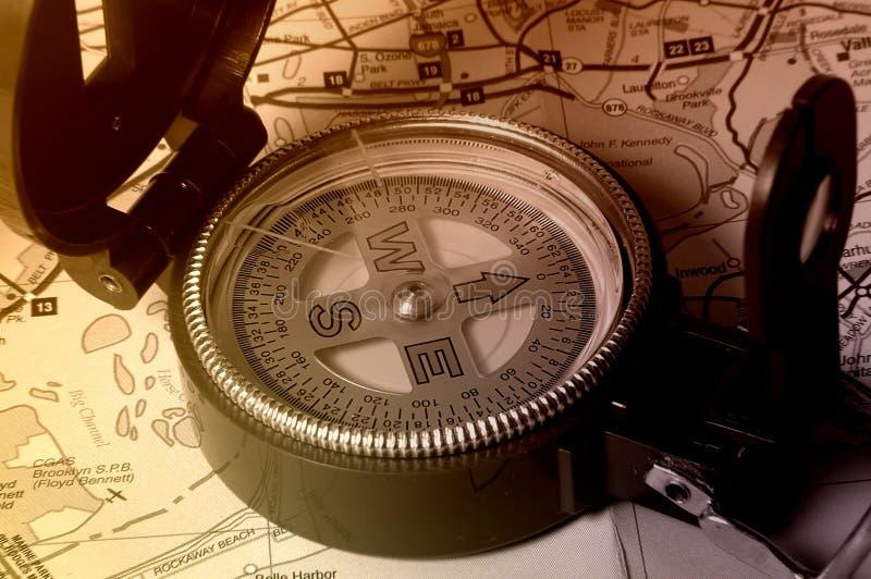 kompas. obraz stock