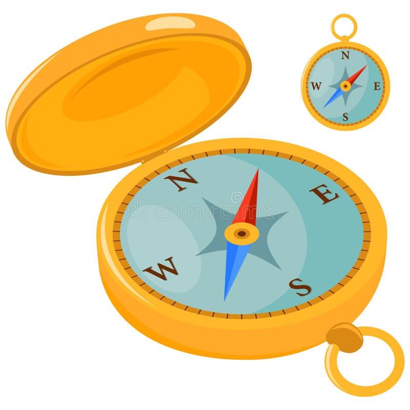 Kompas royalty ilustracja