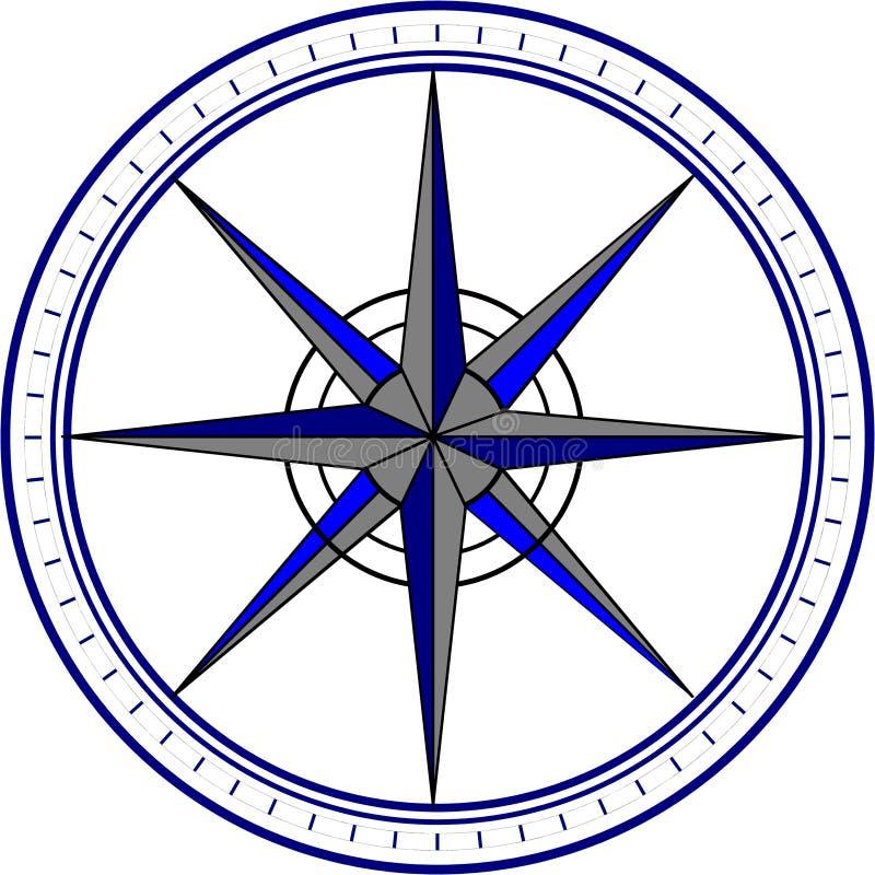 Kompas, nawigacja, pointer/ fotografia royalty free