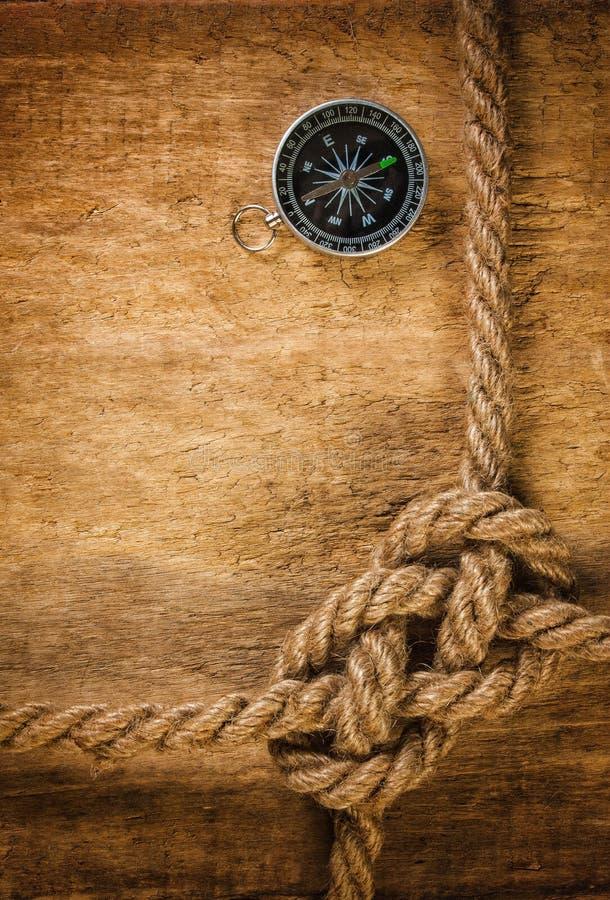 Kompas z arkaną obrazy royalty free