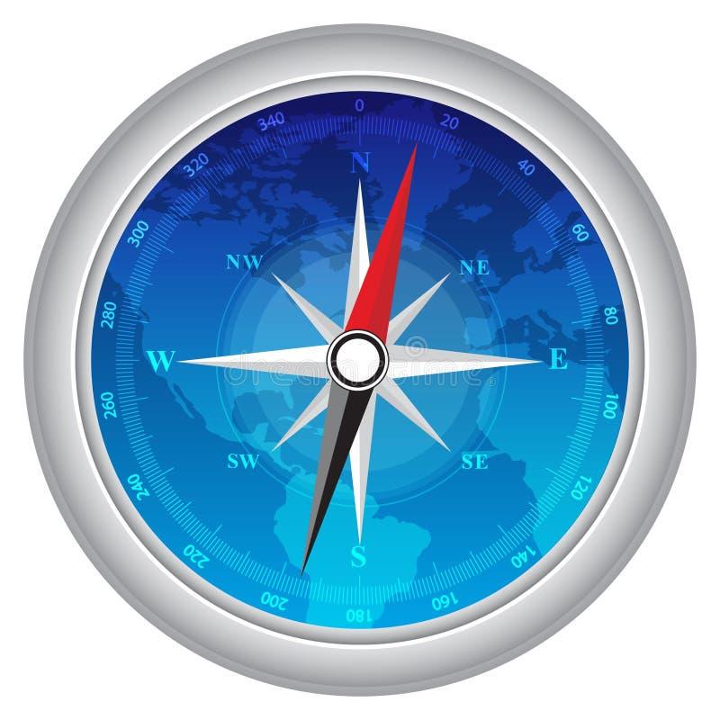 Kompass vektor abbildung