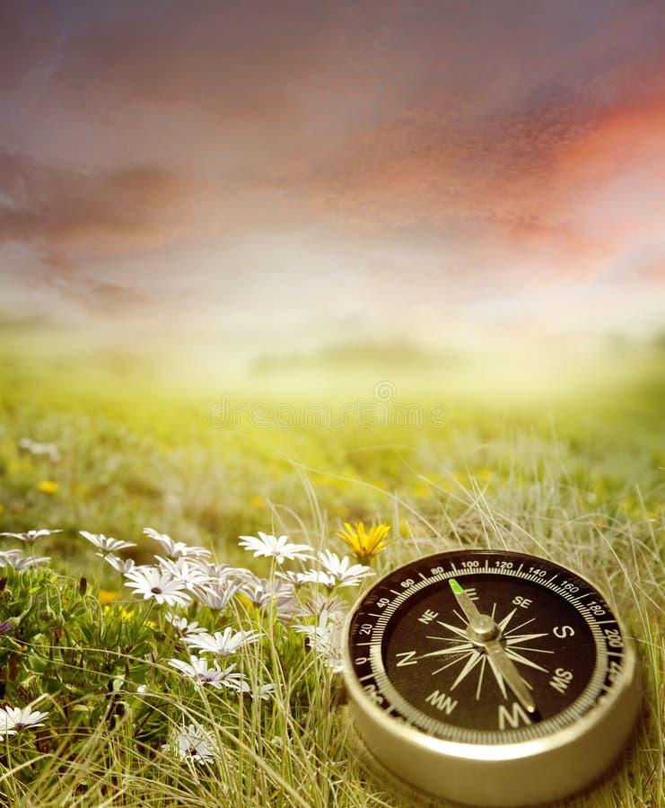 Kompass stockfotografie