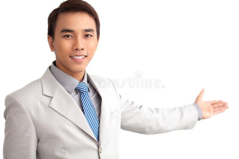 Kompetentny przedstawiciel zdjęcia royalty free