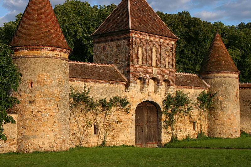 kompleks średniowieczny obrazy royalty free
