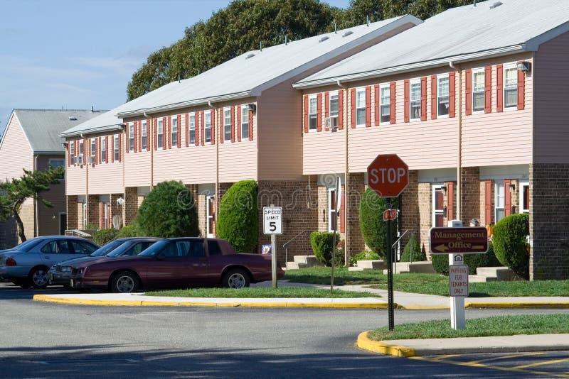 kompleks apartamentów zdjęcie royalty free