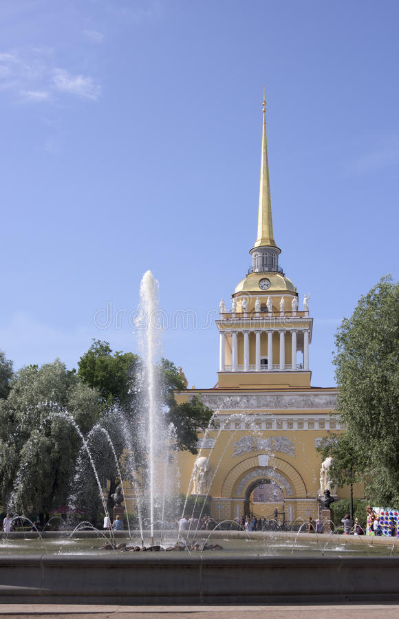 Kompleks budynki admiralicja obraz stock