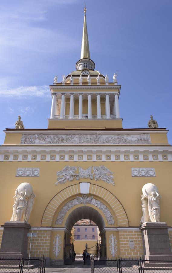 Kompleks budynki admiralicja obrazy royalty free