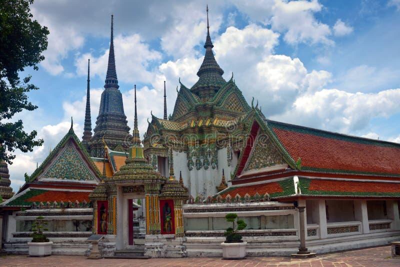 Komplex des Tempels Wat Pho lizenzfreie stockfotografie