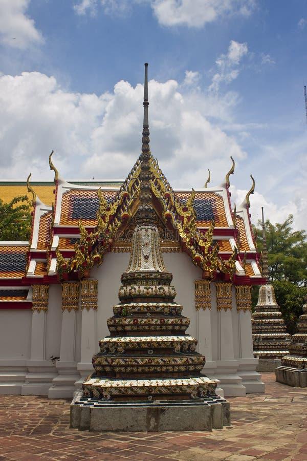 Komplex des Tempels Wat Pho stockfoto