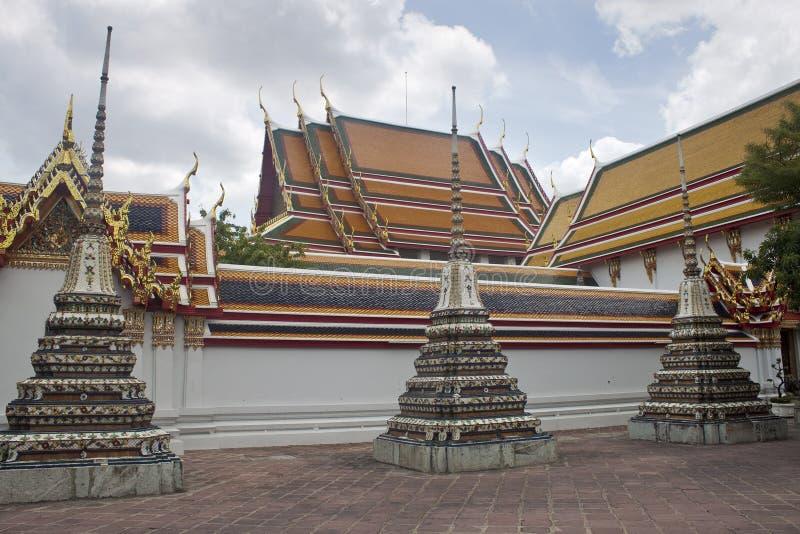 Komplex des Tempels Wat Pho lizenzfreie stockfotos
