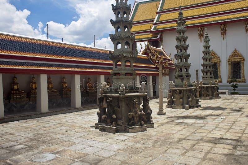 Komplex des Tempels Wat Pho stockfotografie