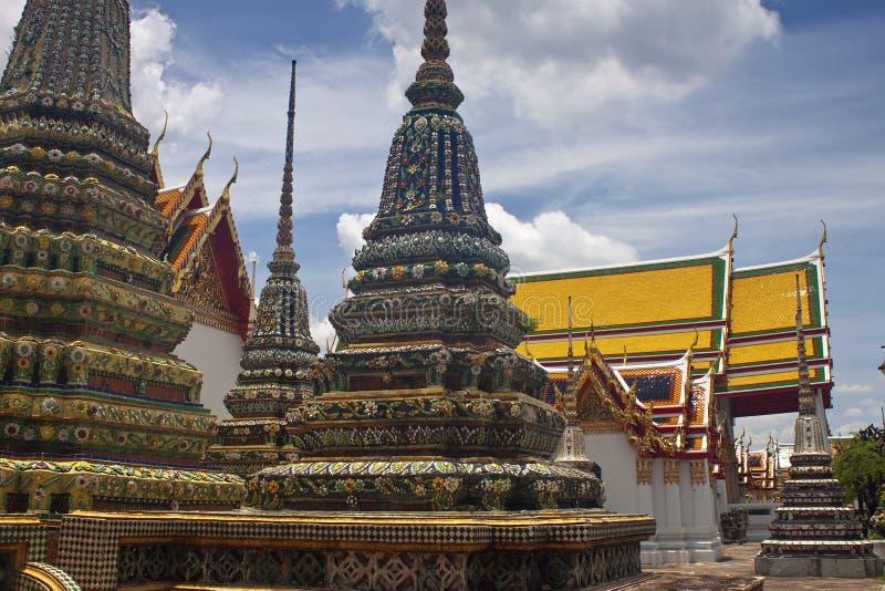 Komplex des Tempels Wat Pho stockbilder