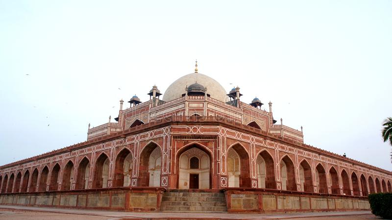 Komplex för gravvalv för Humayun ` s, New Delhi, Indien royaltyfri foto