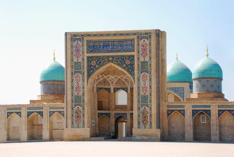 Komplex Hast Imam i Tasjkent arkivbild