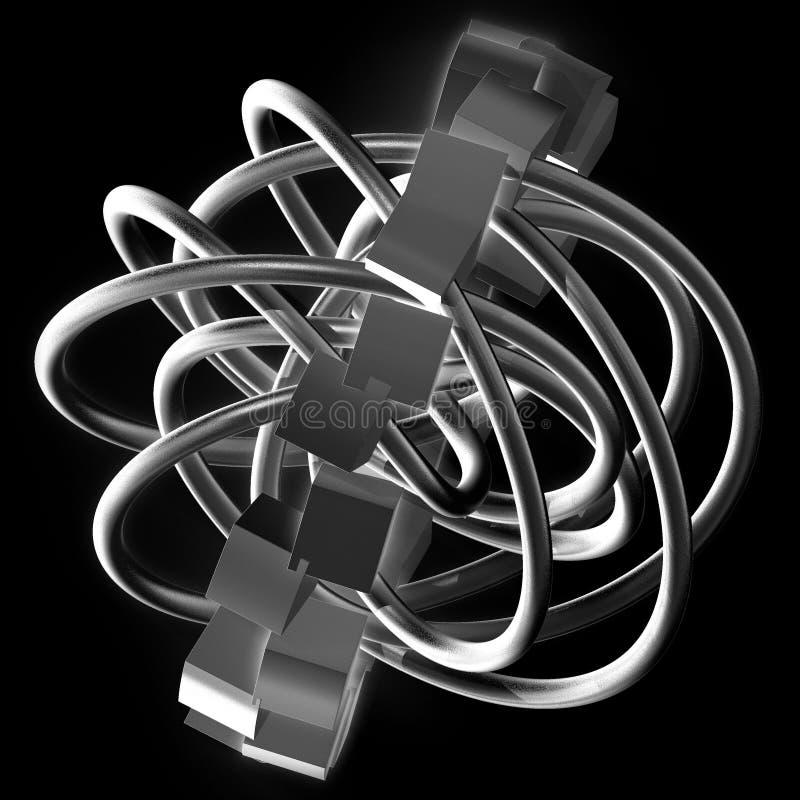 komplexitet vektor illustrationer