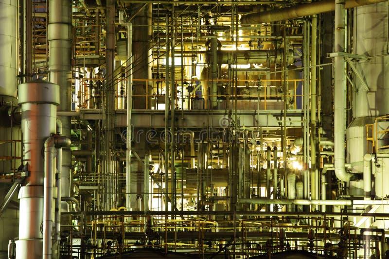 komplicerat industriellt royaltyfri bild