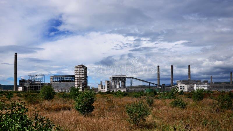 komplicerat industriellt arkivfoton
