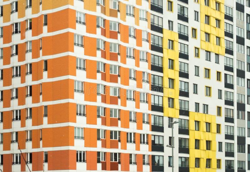 komplicerat nytt bostads Ryssland Moscow arkivbilder