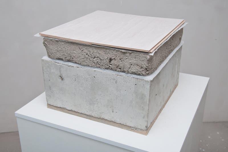Komponenten des Bodens stockbild