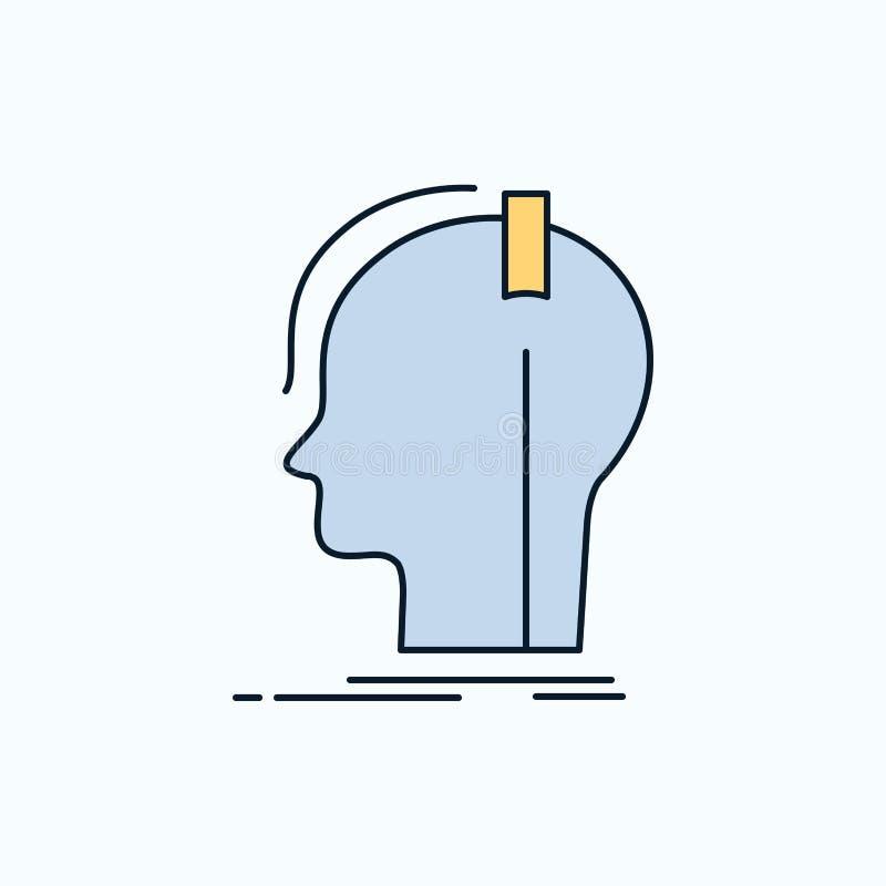 kompositör hörlurar, musiker, producent, solid plan symbol gr?nt och gult tecken och symboler f?r website och mobil appliation vektor illustrationer