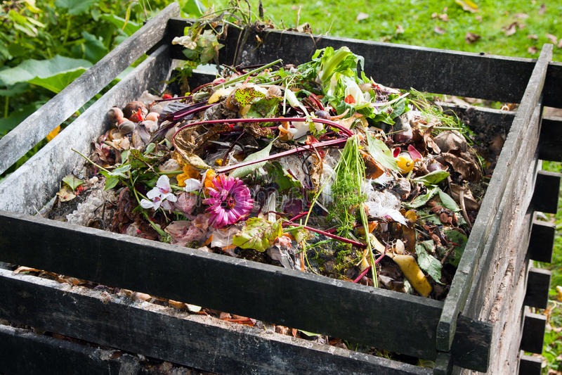 Kompostfack arkivbilder