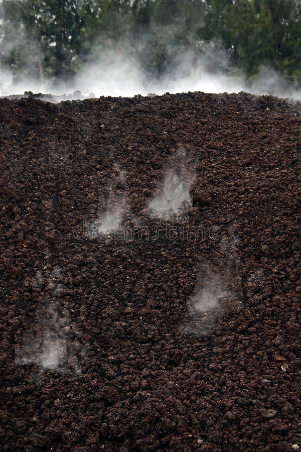 kompostowa fermentacji zdjęcia stock