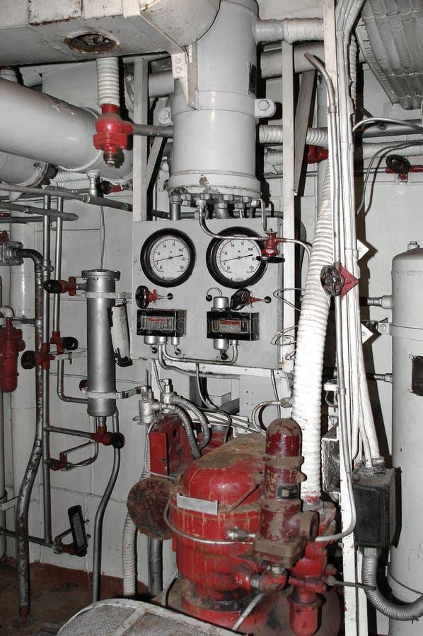 Kompressor-Station lizenzfreies stockbild