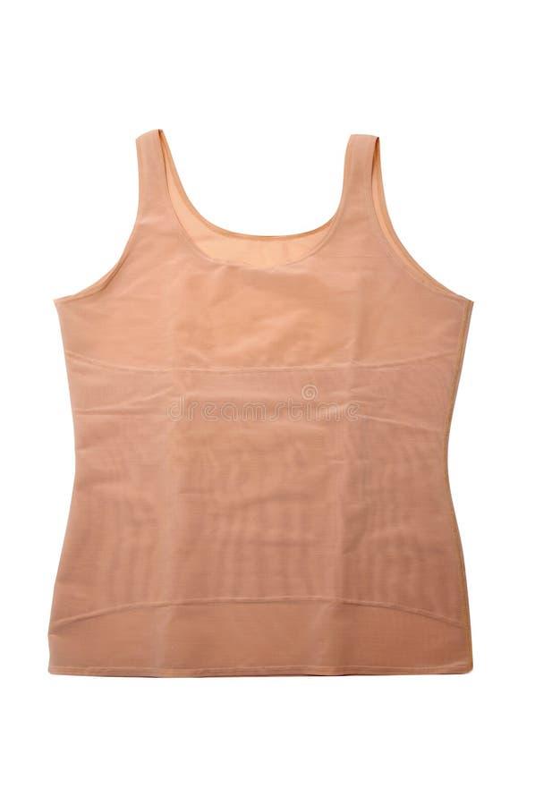 Komprimierung Ein-Hemd lizenzfreie stockfotografie