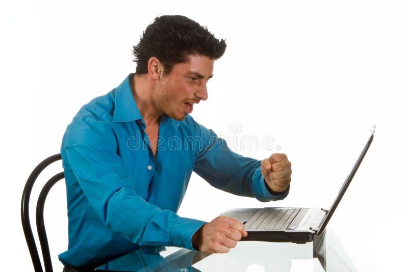komputerów osobisty problemy zdjęcie stock