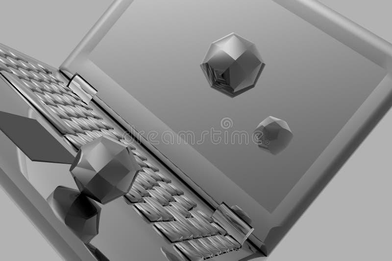 komputer. royalty ilustracja