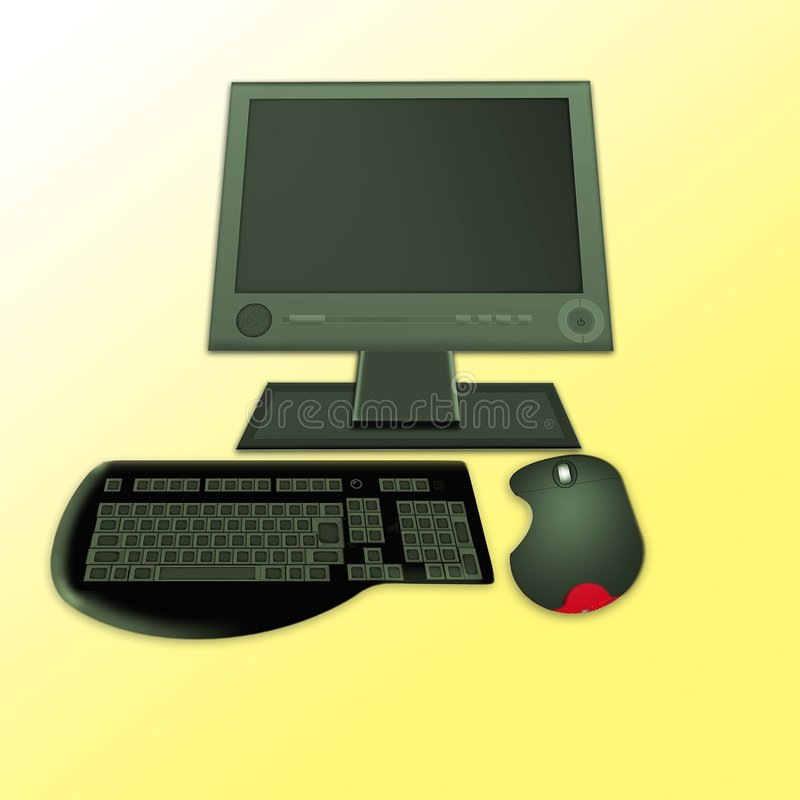 komputer. zdjęcie stock