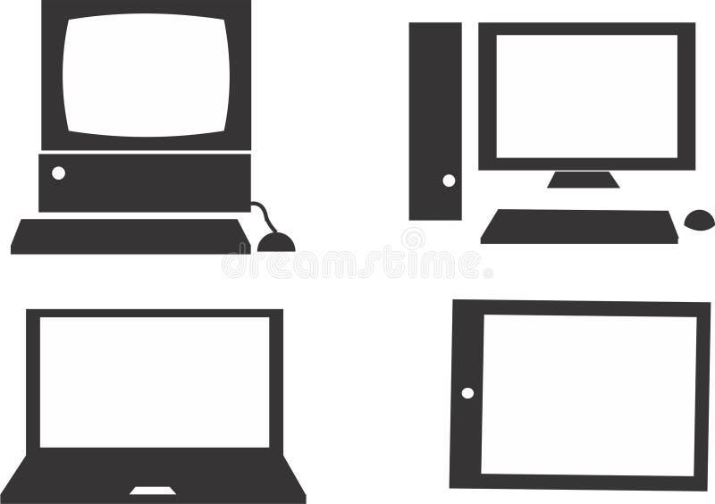 Komputer ilustracja wektor