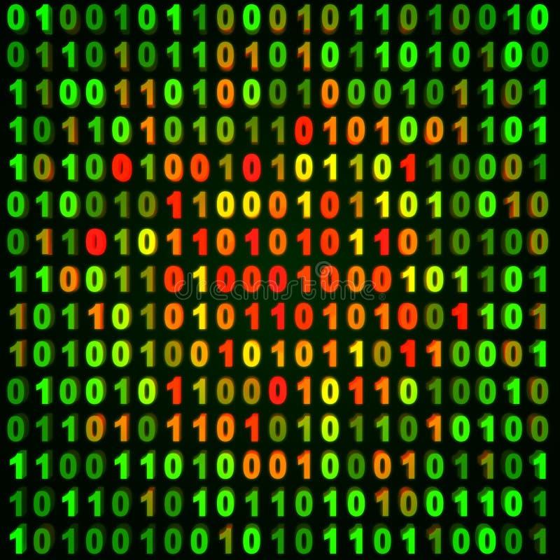 komputer abstrakcyjne tło ilustracji
