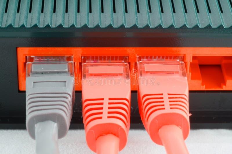 komputer cable obraz royalty free