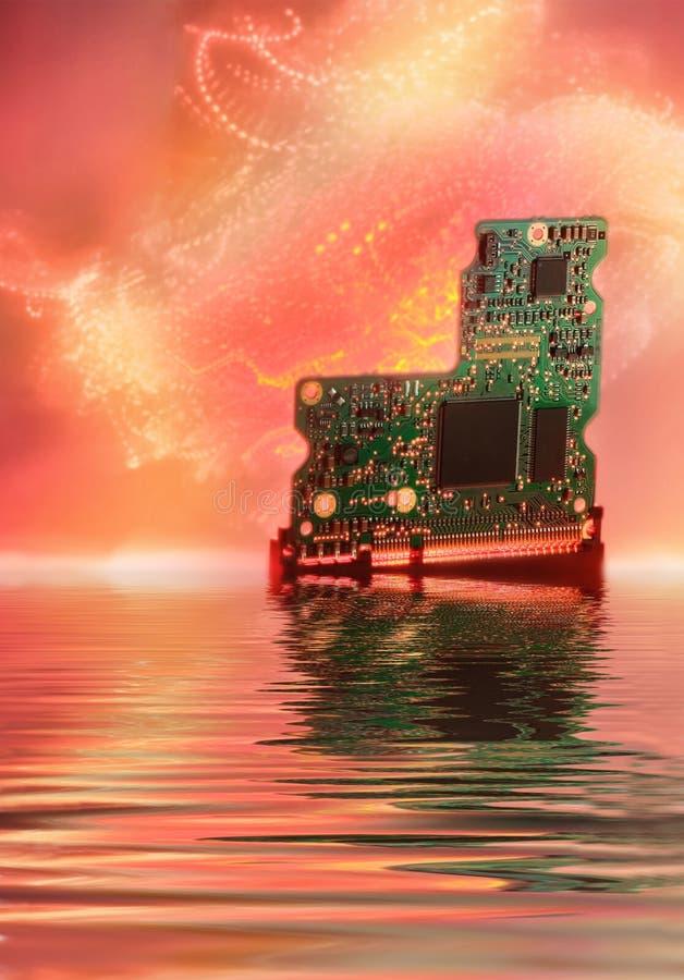 komputer chipa obraz royalty free