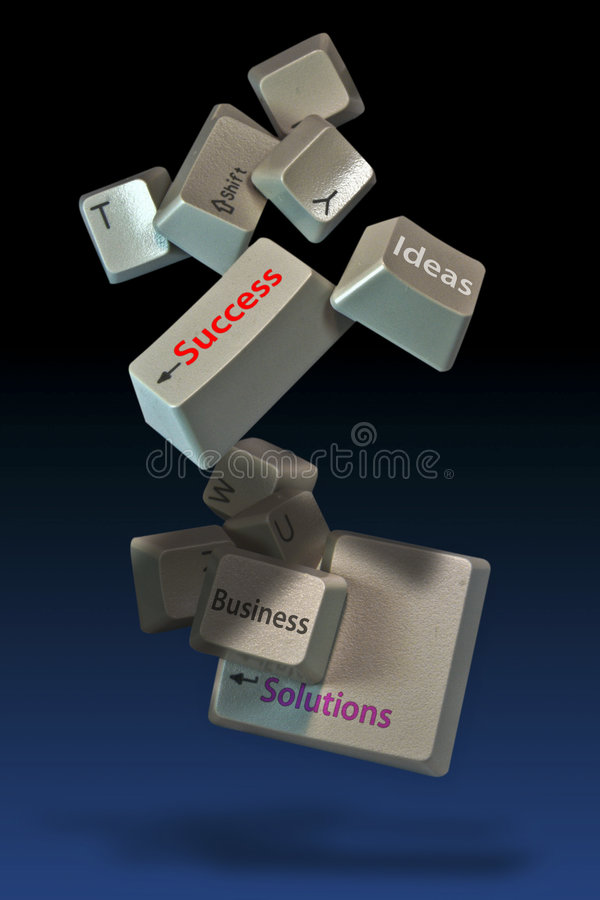 komputer keys2 fotografia stock