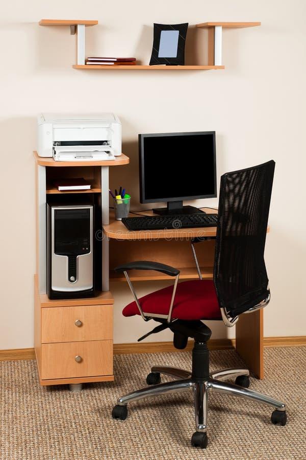komputer nowożytny fotografia stock
