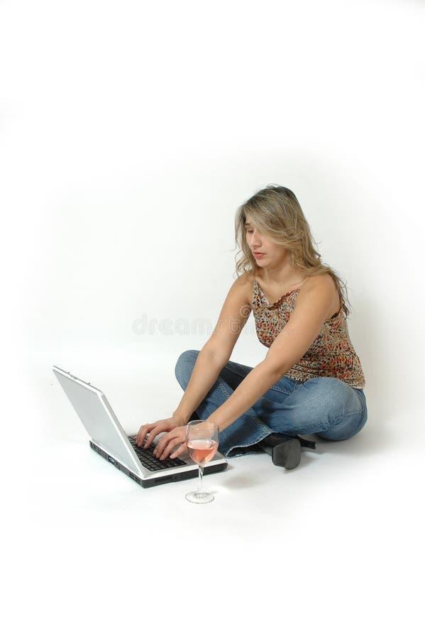 komputer okrążenia na szczyt zdjęcia stock
