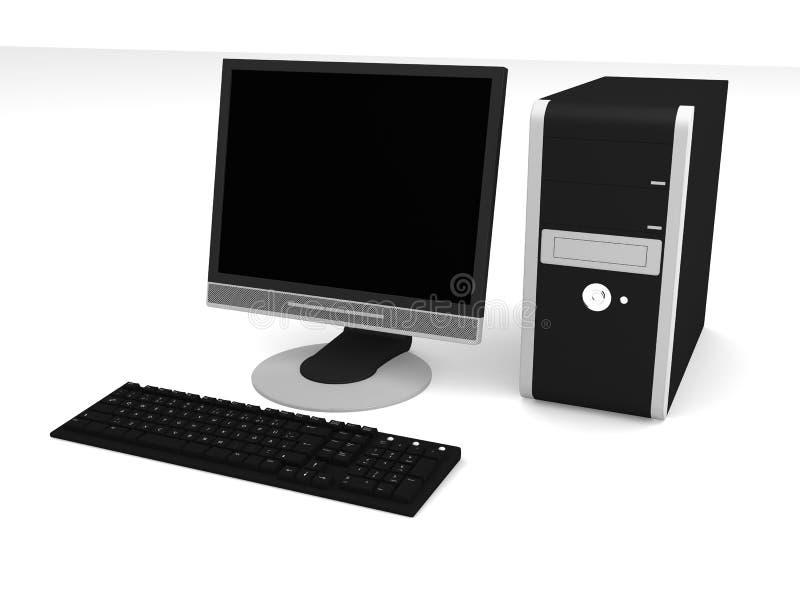 komputer osobisty ilustracja wektor