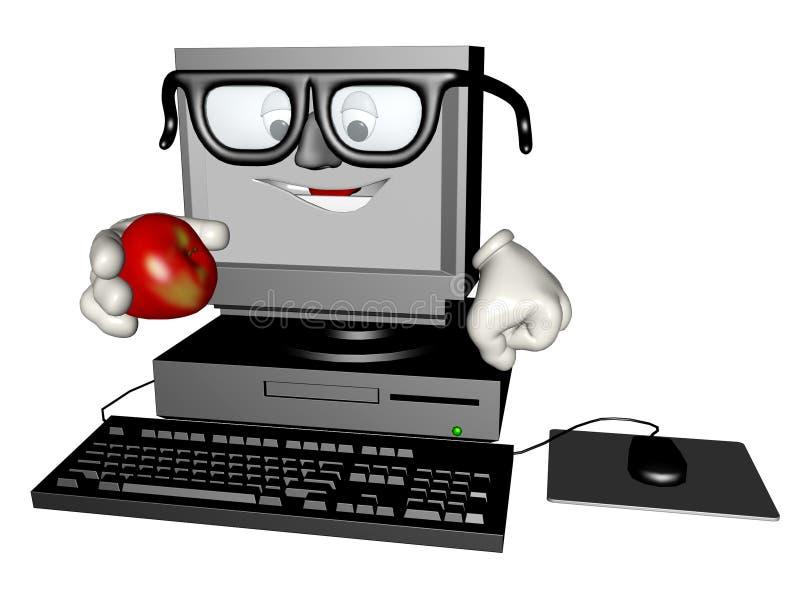 komputer osobisty apple royalty ilustracja