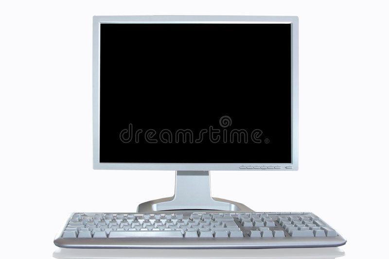 komputer osobisty stanowisko obrazy royalty free