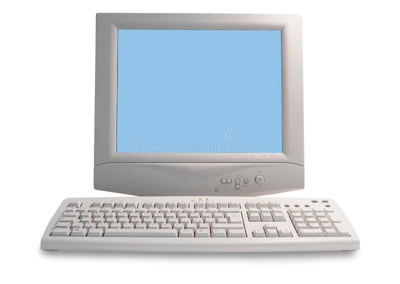komputer stary obrazy stock