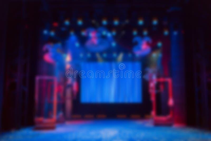 Komputer wytwarzający wizerunek Sceneria, prowadzący wyposażenie na scenie, parawanowy i oświetleniowy obrazy royalty free